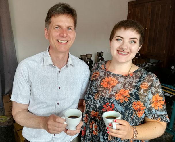 Bernhard Carina Durham Coffee